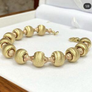 Spherical Gold Bracelet