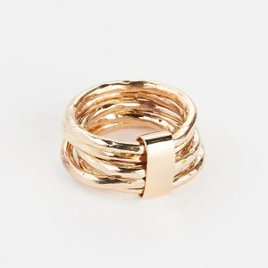 Gold Wrapped Wedding Band